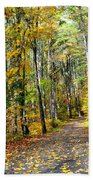 Country Roads Beach Towel