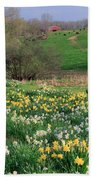 Country Spring Beach Towel by Bill Wakeley