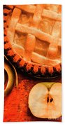 Country Style Baking Beach Towel