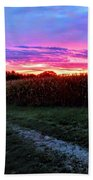 Country Sunrise Beach Towel
