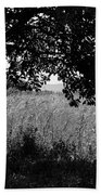 Countryside Of Italy Bnw Beach Towel