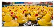 County Fair Rubber Duckies Beach Sheet