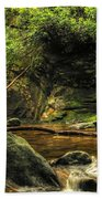 Courthouse Waterfall Beach Towel