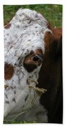 Cow Tongue Beach Towel