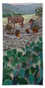 Cowboy Coffeebreak Beach Towel