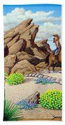 Cowboy Concerns Beach Towel