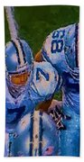 Cowboy Huddle Beach Towel