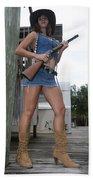 Cowgirl 021 Beach Sheet