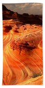 Coyote Buttes Rainbow Dragon Beach Towel