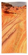 Coyote Buttes Sunset Glow Beach Towel