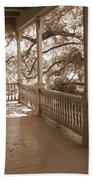 Cozy Southern Porch Beach Towel by Carol Groenen