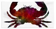 Crab Nebula Beach Towel