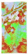 Crabapples Series #4 23 Beach Towel