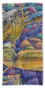 Crabby Beach Towel