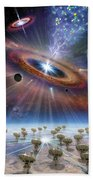 Cradle Of Life Beach Towel