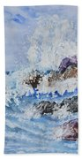 Crashing Wave IIi Beach Towel