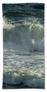 Crashing Wave Beach Towel by Sandy Keeton