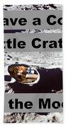 Crater27 Beach Towel