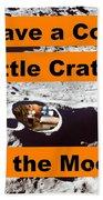 Crater3 Beach Towel