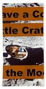 Crater34 Beach Towel