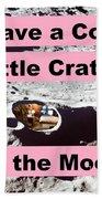 Crater38 Beach Towel