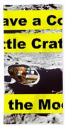Crater4 Beach Towel