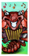 Crawfish Band Beach Towel
