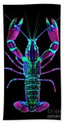 Crawfish In The Dark - Rosegreen Beach Towel