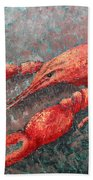 Crawfish Beach Towel