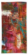 Crazy Abstract 1 Beach Towel