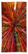 Crazy Fun Colorful Abstract Beach Towel