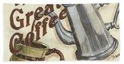 Cream Coffee 1 Beach Sheet