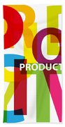 Creative Title - Productivity Beach Towel