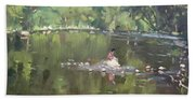 Credit River By Norval On Beach Towel