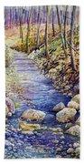 Creek Crossing Beach Towel