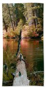 Creek Fall Beach Towel