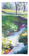 Creek Flow Beach Towel