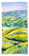 Creek To The Cabin Beach Towel by Joanne Smoley