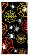 Creepy Crawlers Beach Towel