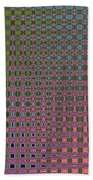 Crepe Myrtle Abstract Beach Towel