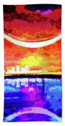 Crescent City Beach Towel