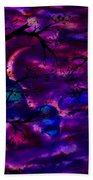 Crescent Moon Beach Towel