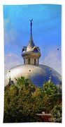 Crescent Of The Dome Beach Towel