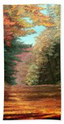 Cressman's Woods Beach Towel