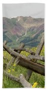 Crested Butte Color Beach Towel