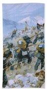 Crimean War And The Battle Of Chernaya Beach Towel