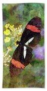 Crimson Longwing Butterfly 8231 Idp_2 Beach Towel