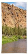 Crooked River II Beach Towel