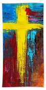 Cross 2 Beach Towel