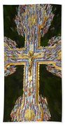 Cross Of The Epiphany Beach Towel